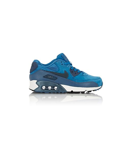 Nike | Blue Air Max 90 Sneakers | Lyst