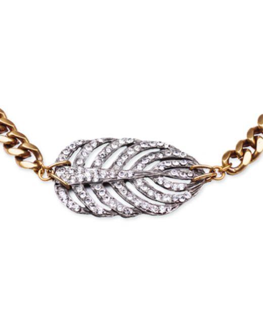 Lulu Frost | Metallic Silvertone Drift Necklace | Lyst