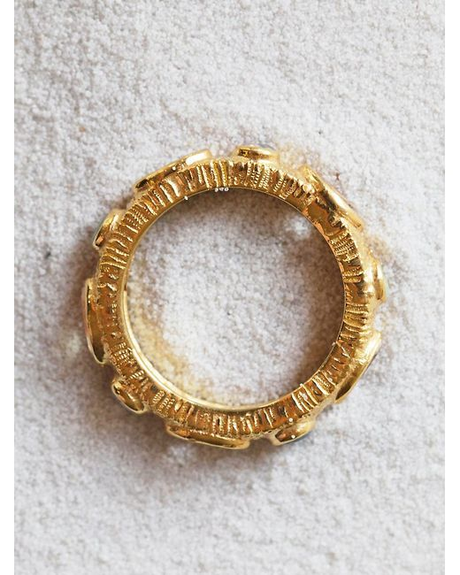 Free People | Metallic Halo Band Ring | Lyst