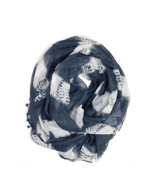 Michael Stars | Blue Tie Dyed Rugby Eternity | Lyst