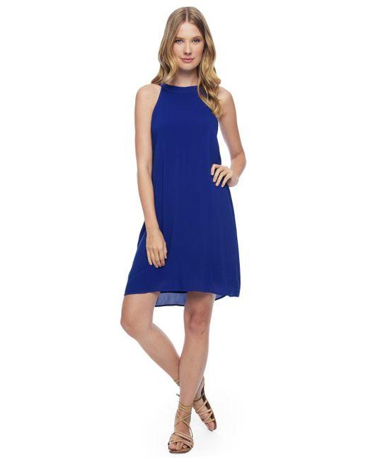 Splendid | Blue Zip Back Dress | Lyst