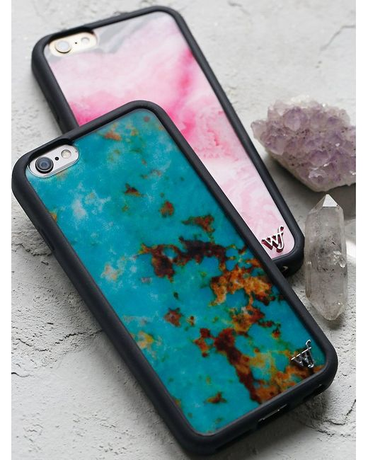 free people iphone case free collection iphone in blue 5941