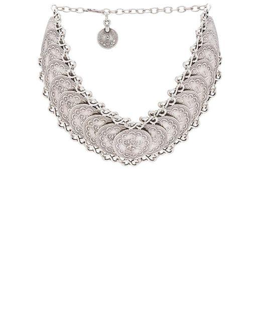 Natalie B. Jewelry   Metallic Cyprus Choker Necklace   Lyst