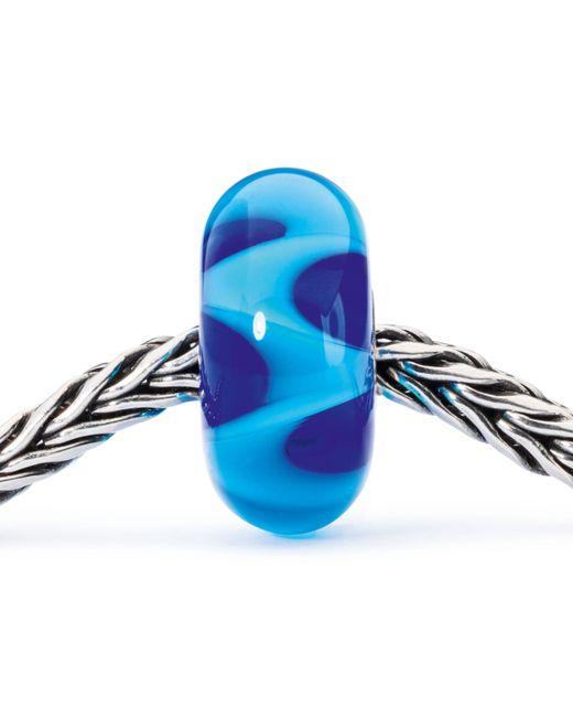 Trollbeads | Blue Azure Wave Bead | Lyst