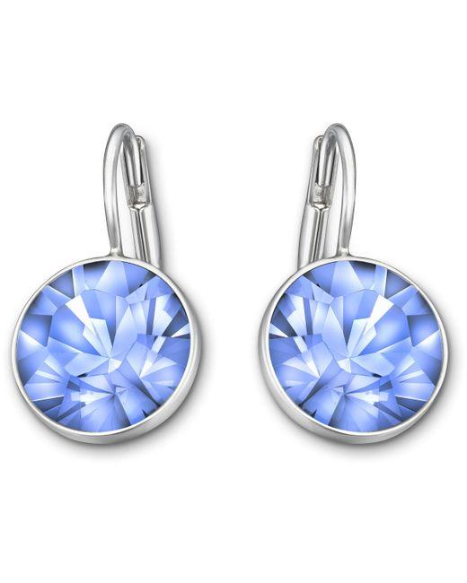 Swarovski | Blue Bella Mini Pierced Earrings | Lyst