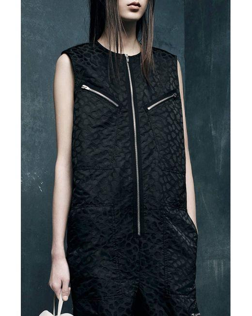 Alexander Wang | Black Flight Suit Jumper Nocturnal | Lyst