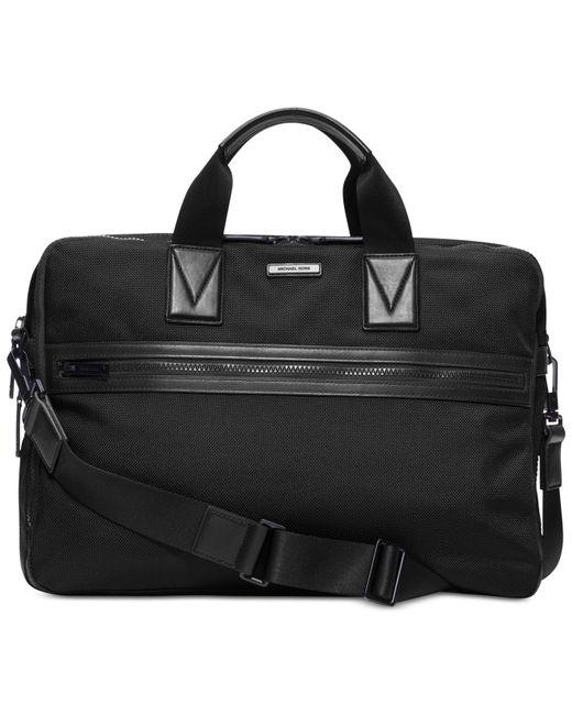 Michael Kors | Black Parker Large Briefcase for Men | Lyst