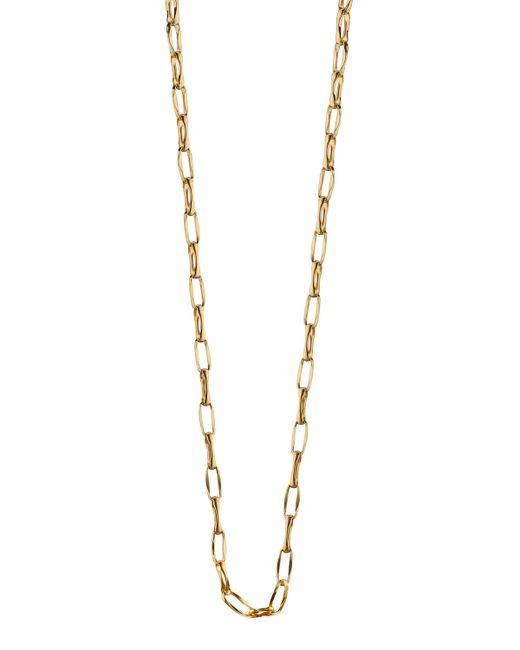Monica Rich Kosann | Metallic 18K Yellow Gold Belcher Chain Necklace | Lyst