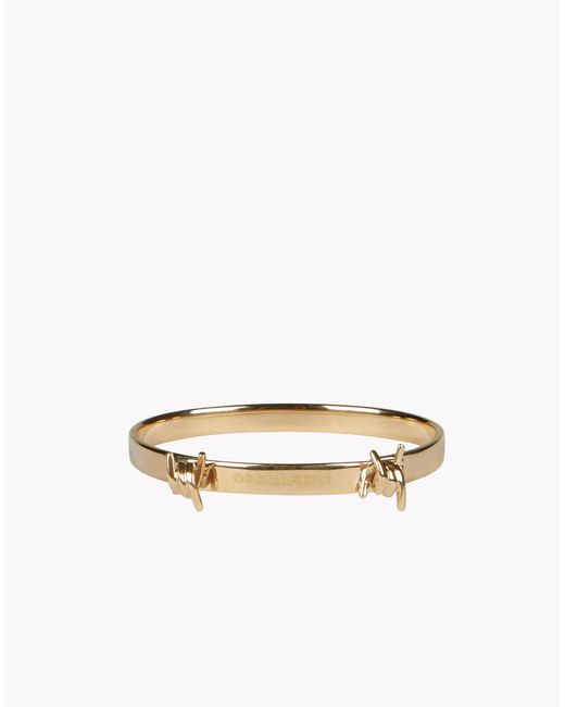 DSquared² | Metallic Mini Babe Wire Armlet | Lyst