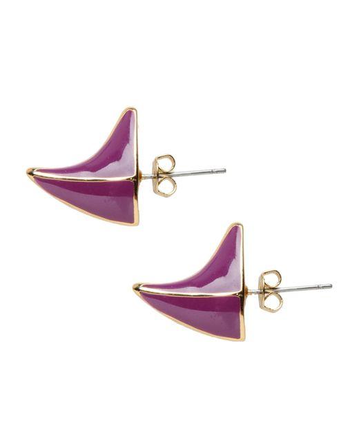 Dominic Jones | Purple Earrings | Lyst