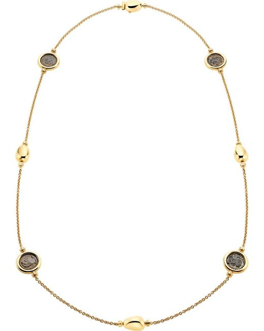 BVLGARI | Metallic Monete 18ct Yellow-gold Sautoir Necklace | Lyst