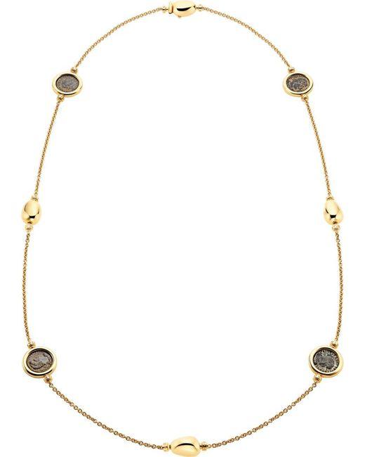BVLGARI | Metallic Monete 18kt Yellow-gold Sautoir Necklace | Lyst