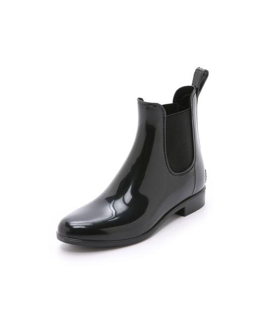 Sam Edelman | Black Tinsley Rubber Chelsea Rainboots | Lyst