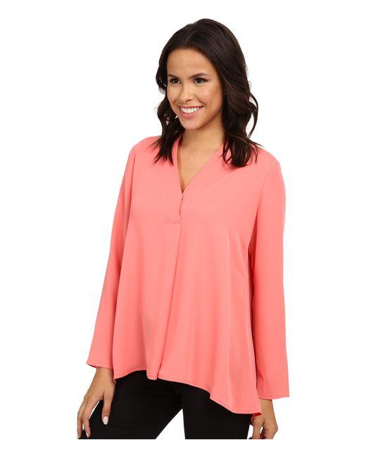 NIC+ZOE | Pink Majestic Matte Shirt | Lyst