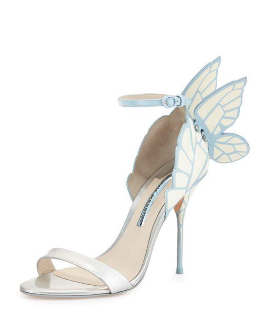 Sophia webster chiara butterfly wing bridal sandal in for Sophia webster wedding shoes