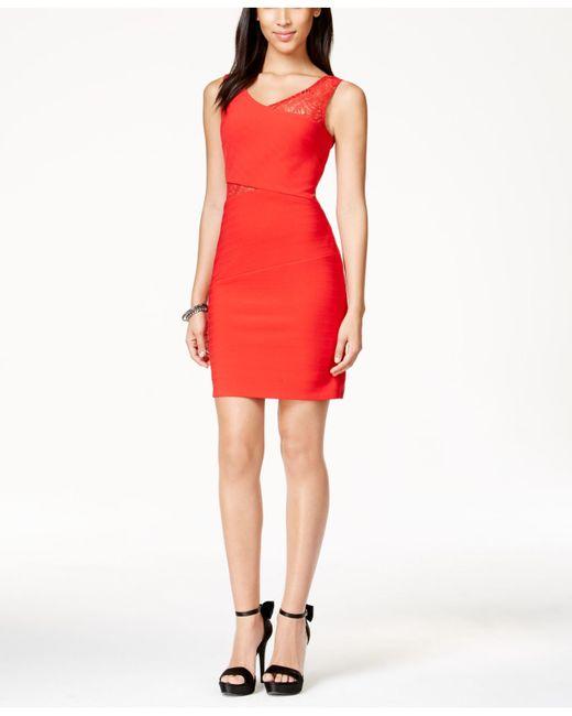 Lipsy asymmetric neck bodycon dress