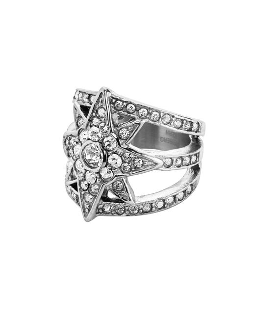 Dyrberg/Kern | Metallic Staray Ring | Lyst