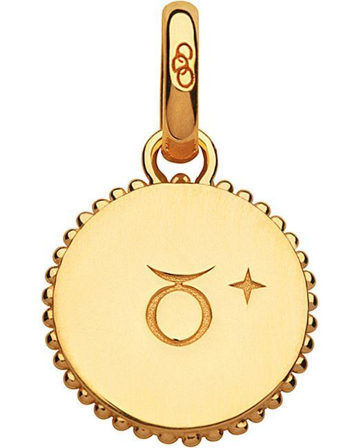 Links of London | Taurus 18ct Yellow-gold Vermeil Zodiac Charm | Lyst