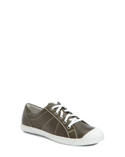 Josef Seibel | Gray 'lilo 13' Leather Sneaker | Lyst