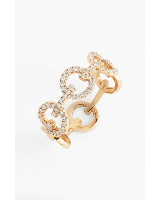 Bony Levy | Pink Diamond Link Band Ring (nordstrom Exclusive) | Lyst