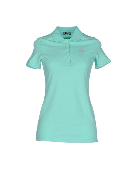 Express Polo Shirt In Blue Lyst