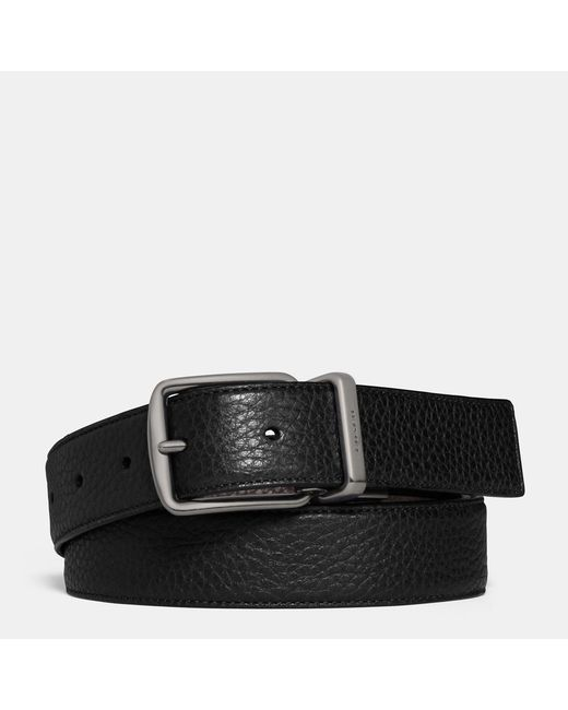 COACH | Black Regular Harness Cut-to-size Reversible Belt | Lyst