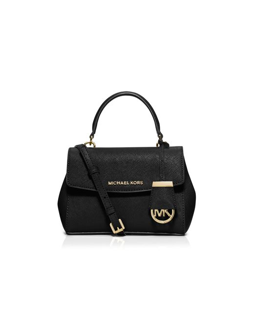 MICHAEL Michael Kors | Black Mini Ava Crossbody | Lyst