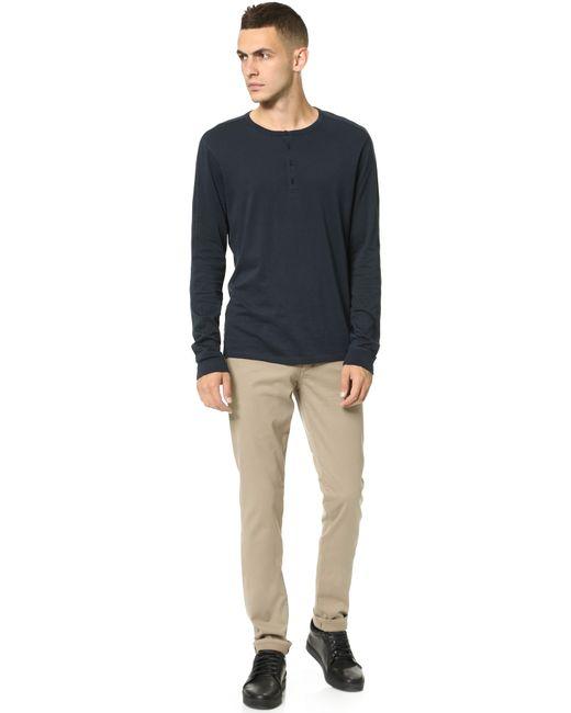 VINCE   Natural Essential 5 Pocket Soho Twill Jeans for Men   Lyst
