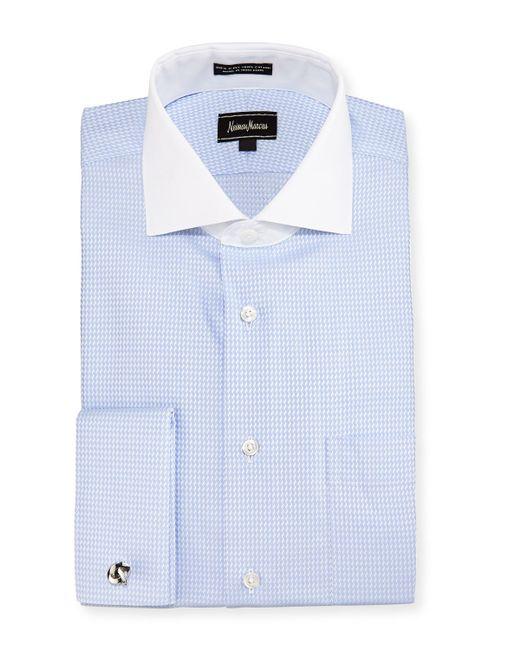 Neiman Marcus Classic Fit Regular Finish Check Dress Shirt