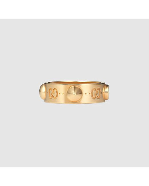 Gucci | Metallic Good Gold Icon Ring In Rose Gold | Lyst
