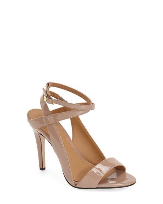 Calvin Klein | Pink 'melville' Ankle Strap Sandal | Lyst