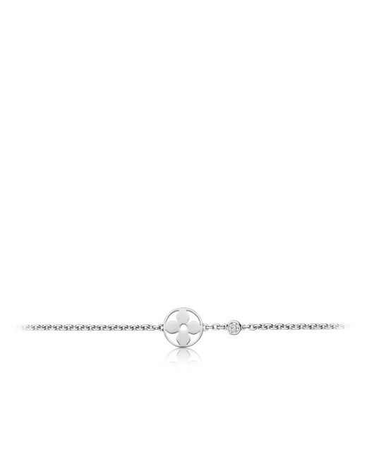 Louis Vuitton | Idylle Blossom Bracelet, White Gold And Diamond | Lyst