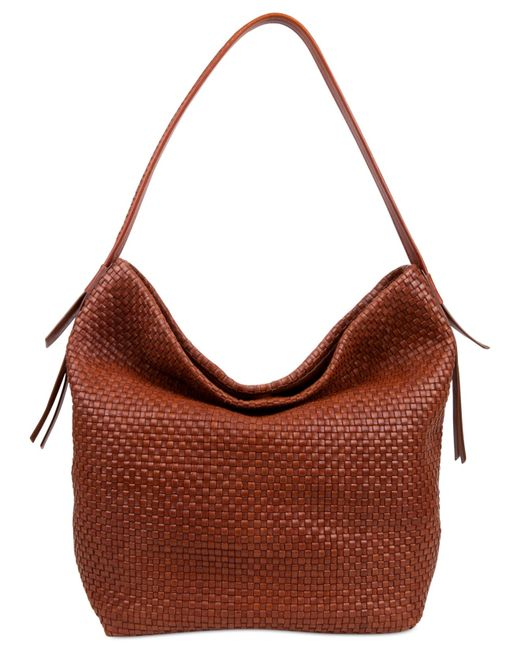 Cole Haan | Brown Bethany Large Bucket Hobo | Lyst