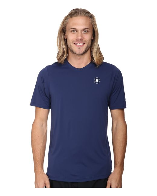 Hurley | Blue Dri-fit Icon S/s Surf Shirt for Men | Lyst