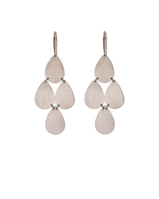 Irene Neuwirth | Metallic Teardrop Chandelier Earrings | Lyst