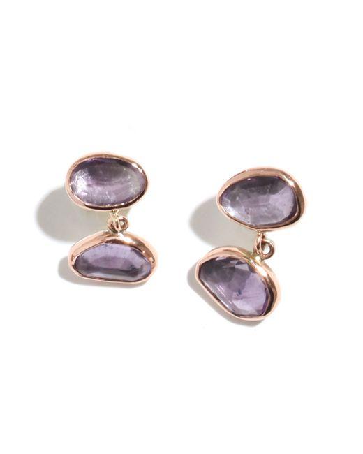 Melissa Joy Manning | Purple Amethyst Drop Earrings | Lyst