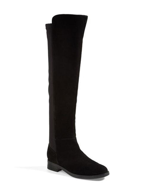 Blondo | Black 'eden' Over The Knee Waterproof Boot | Lyst