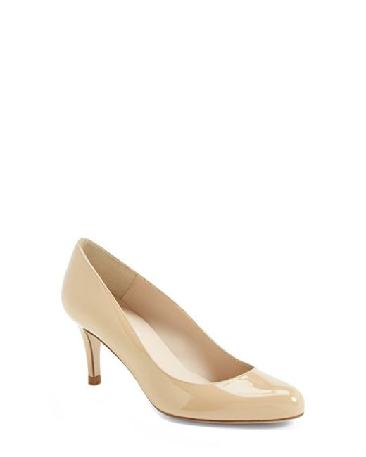L.K.Bennett | Brown 'samira' Pump | Lyst