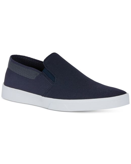 calvin klein men 39 s ives slip on sneakers in gray for men. Black Bedroom Furniture Sets. Home Design Ideas