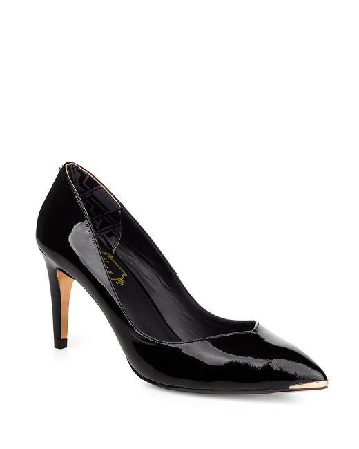 Ted Baker | Black Moniirra Patent Leather Pumps | Lyst