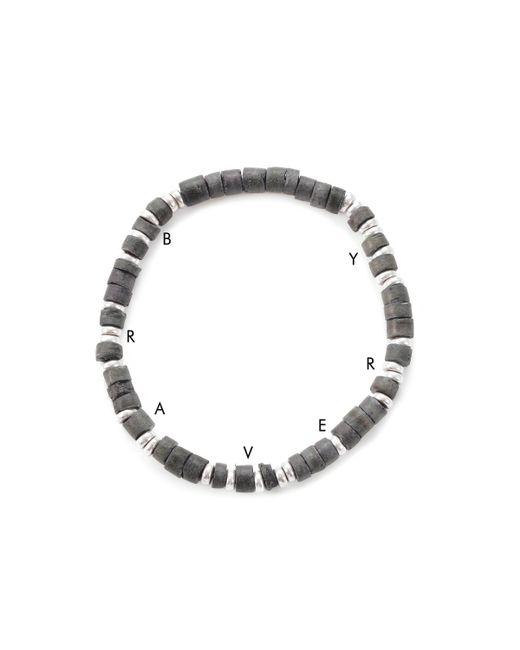 Lulu Frost | Black George Frost G. Frost Wooden Morse Bracelet Navy | Lyst