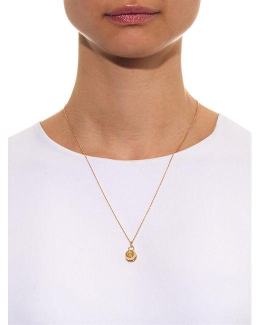 Aurelie Bidermann   Bell Yellow-Gold Necklace   Lyst
