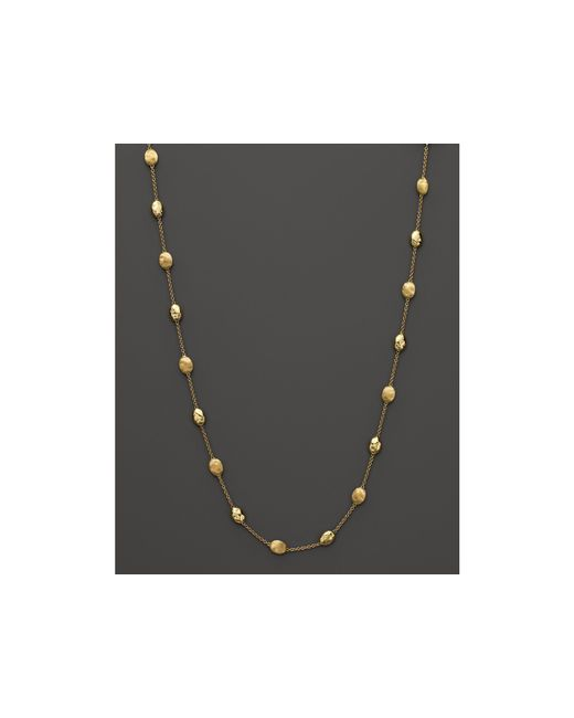"Marco Bicego | Metallic 18k Yellow Gold Siviglia Necklace, 16.5"" - Bloomingdale's Exclusive 