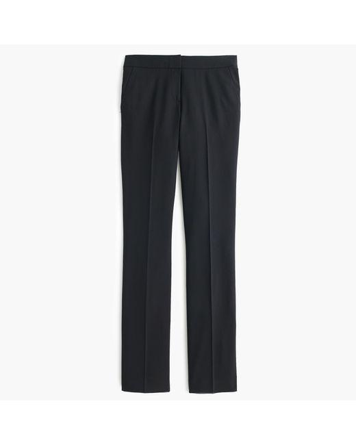 J.Crew | Black Campbell Trouser In Italian Stretch Wool | Lyst