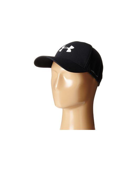 Under Armour | Black Ua Driver Adjustable Golf Cap for Men | Lyst
