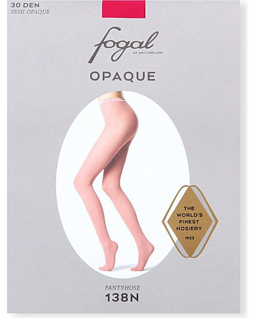 Fogal | Red Opaque Tights | Lyst