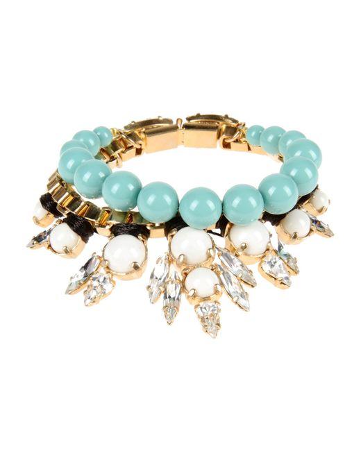 Ellen Conde | Blue Bracelet | Lyst
