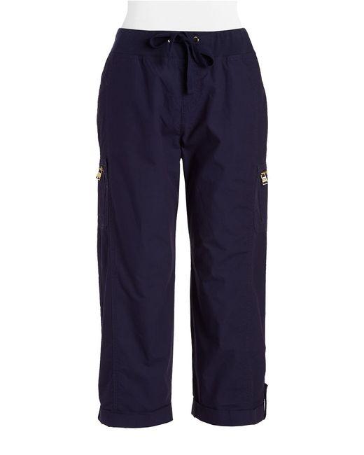 Calvin Klein | Blue Cotton Cargo Pants | Lyst