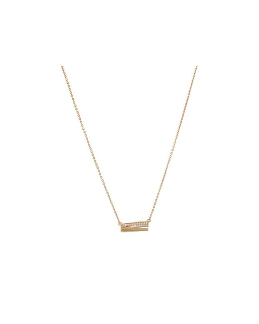 Melinda Maria | Metallic Isabella Pave Necklace | Lyst