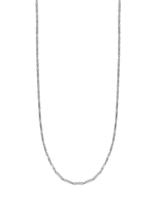 Vince Camuto | Metallic Go To Basics Elongated Link Chain Necklace | Lyst